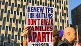 Etats-Unis : manifestations pour les Haïtiens