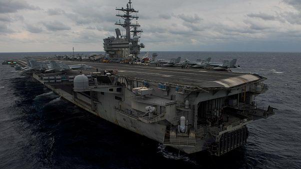 تحطم طائرة للبحرية الأمريكية في بحر الفلبين