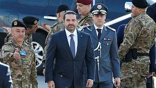 Ανέστειλε την παραίτησή του ο πρωθυπουργός του Λιβάνου Χαρίρι, μετά από αίτημα του προέδρου Αούν