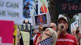 احتمال محکومیت معترضان ترامپ به ۶۰ سال زندان