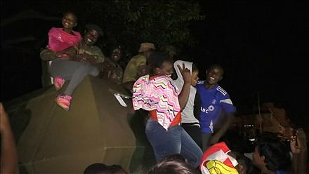Harare streets erupt in joy after Mugabe's resignation