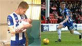 Two goals and a baby: match-winning footballer subbed to see birth of son