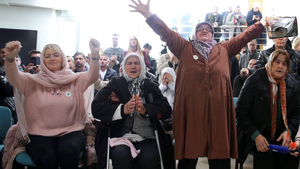 Caso Mladic: esultano le donne di Srebrenica