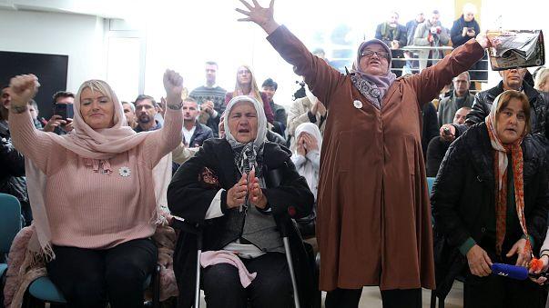 L'émotion des Mères de Srebrenica après le verdict contre Ratko Mladic