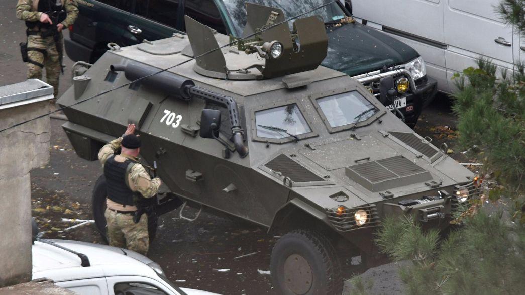 Gürcistan'da terör operasyonu: 1 polis hayatını kaybetti