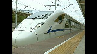 TGV chinois : un nouveau tronçon de 650 km