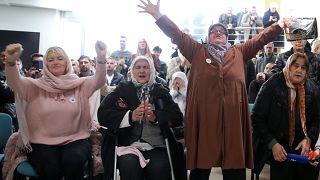Bosnalı kurban yakınlarının acıları bir nebze hafifledi