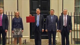 UK Finance minister delivers 2017 budget