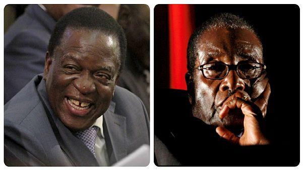 Mnangagwa returns to Zimbabwe to be sworn in as president
