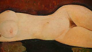Censurés en 1917, des nus de Modigliani à l'honneur