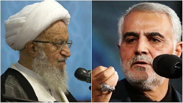 درخواست نوبل صلح برای قاسم سلیمانی از سوی مکارم شیرازی