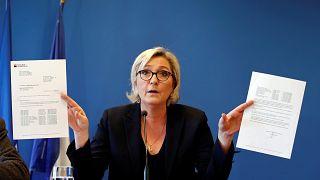 مارین لوپن: حزب جبهه ملی فرانسه قربانی «فتوای بانکی» شده است