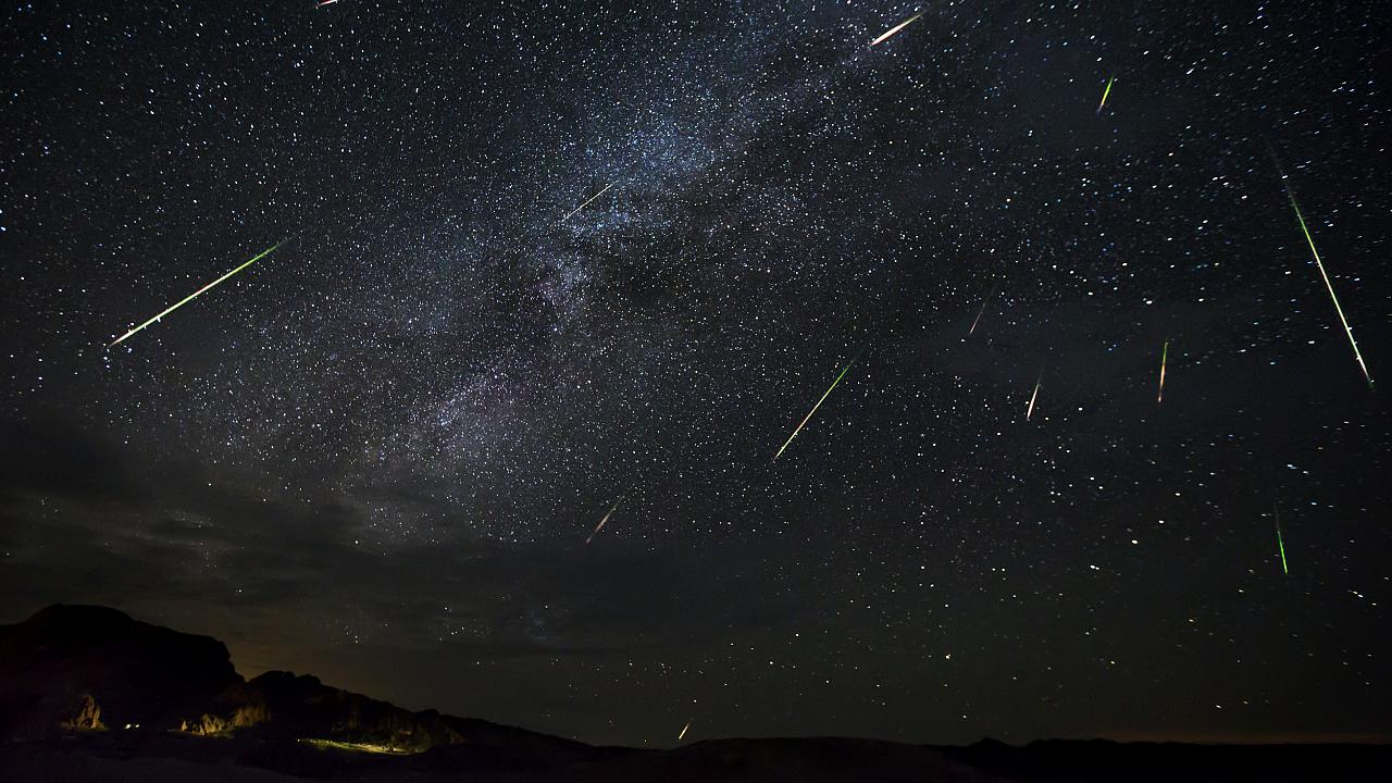 Image: The Perseid Meteor Shower in Terlingua, Texas, on Aug. 14, 2016.