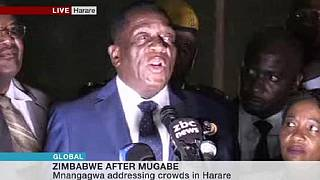 Mnangagwa says had contact with all Zimbabwe security chiefs during impasse