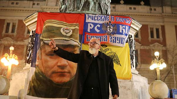 Ratko Mladić visto da Belgrado
