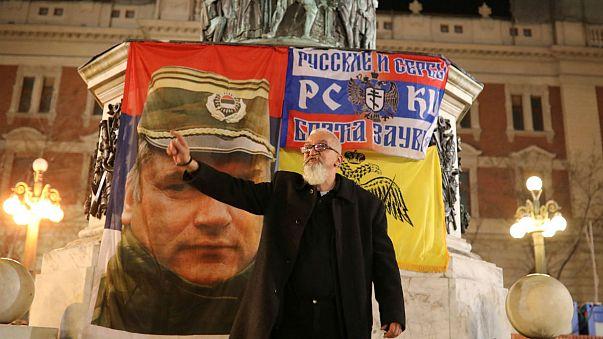 A Belgrade, les habitants toujours divisés