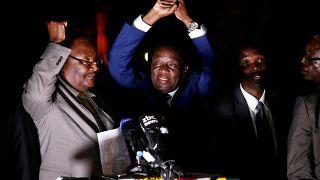 """Emmerson Mnangagwa promete una """"nueva democracia"""" en Zimbabue"""