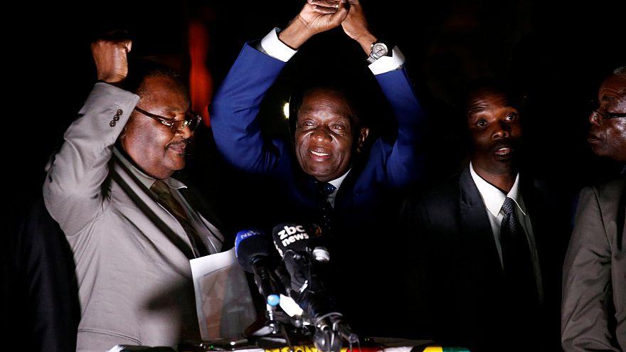 Mnangagwa promises a 'new democracy' in Zimbabwe