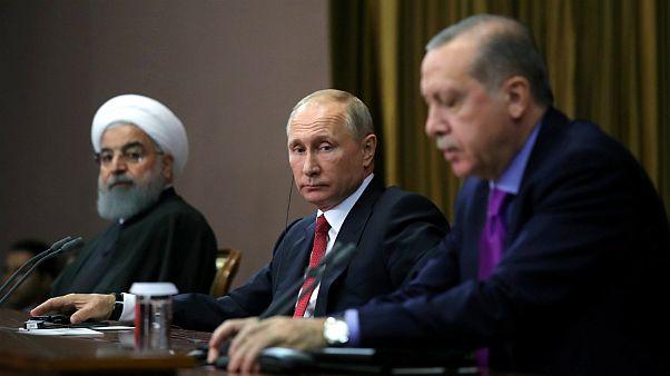 پوتین، روحانی و اردوغان مخالفان اسد را به کنگره صلح سوریه دعوت کردند
