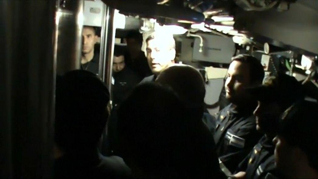 Explosion identified near where Argentine submarine went missing