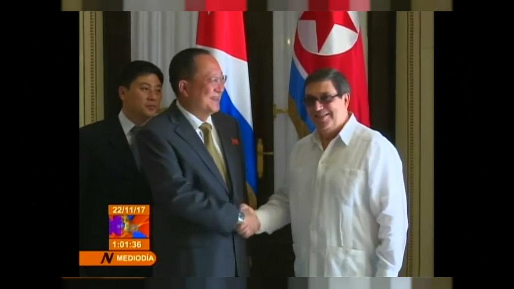 Kubai - észak-koreai csúcs Havannában