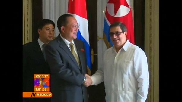 Cuba e Coreia do Norte juntos contra os EUA