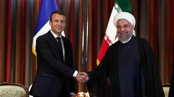 احتمال دیدار روحانی و مکرون در حاشیه اجلاس اقلیمی پاریس