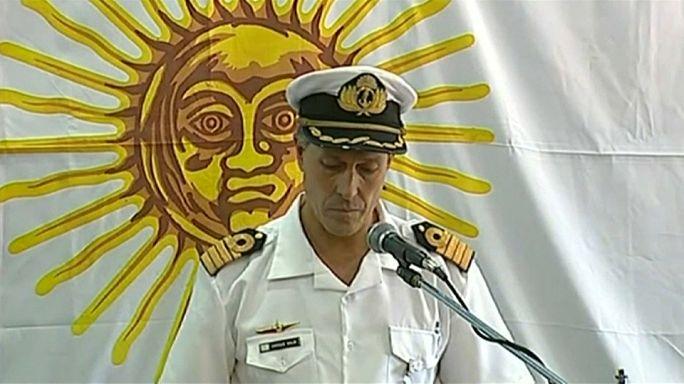 Marinha argentina atualiza informações sobre o submarino ARA San Juan