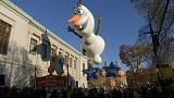 Thanksgiving Day Parades take place in New York