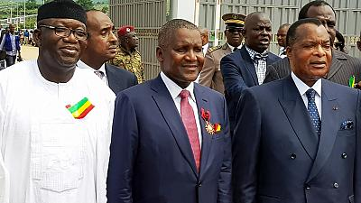 Dangote opens $300m cement plant in Congo-Brazzaville, country's biggest