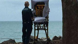 متخصصان استرالیایی آخرین آرزوی یک زن را پیش از مرگ برآورده کردند