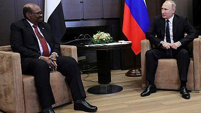 Omar el-Béchir demande à Poutine une protection contres les États-Unis