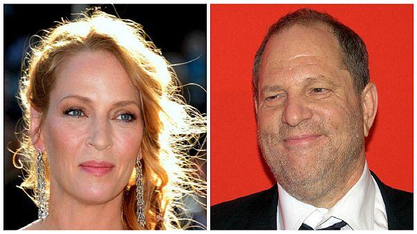 """Wütende Uma Thurman zu Weinstein: """"Du bist keine Kugel wert"""""""