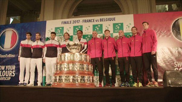 Coupe Davis : finale France - Belgique