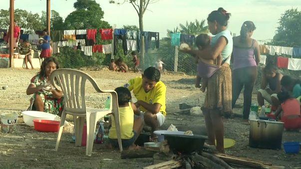 Venezuelalı yerlilerin Brezilya yolculuğu