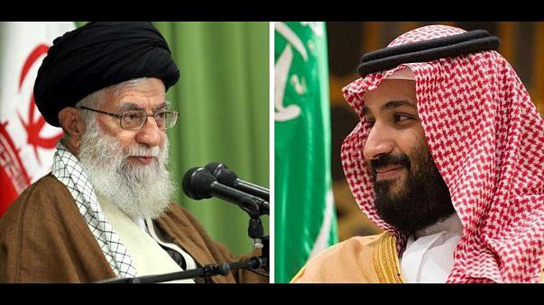بماذا وصف محمد بن سلمان المرشد الأعلى للثورة الايرانية؟