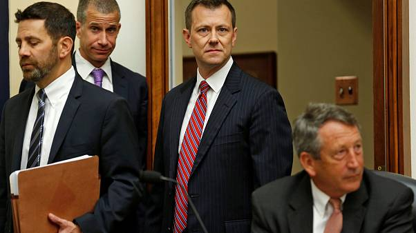 Image: FBI Deputy Assistant Director Peter Strzok testifies before joint Ho