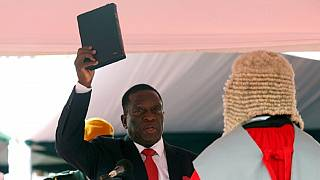 Zimbabwe's new President Emmerson Mnangagwa sworn in