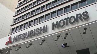 Zuhantak a Mitsubishi részvényei