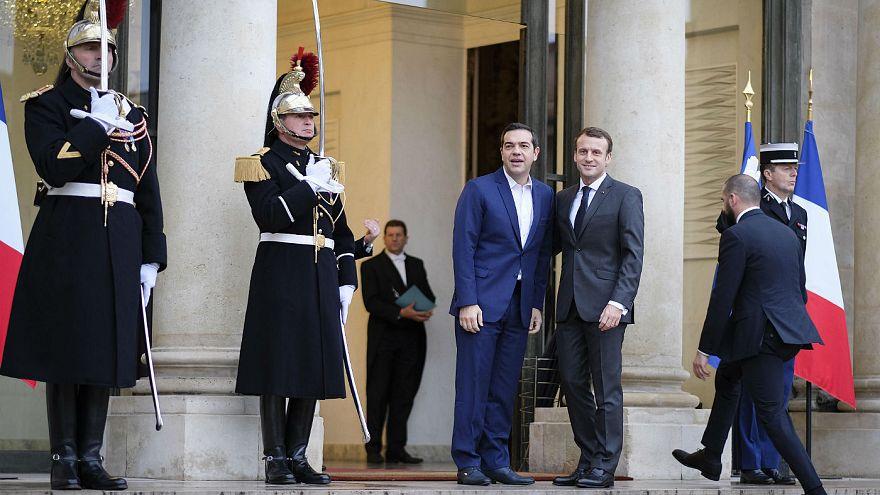 Με τον πρόεδρο Μακρόν συναντήθηκε ο Α. Τσίπρας