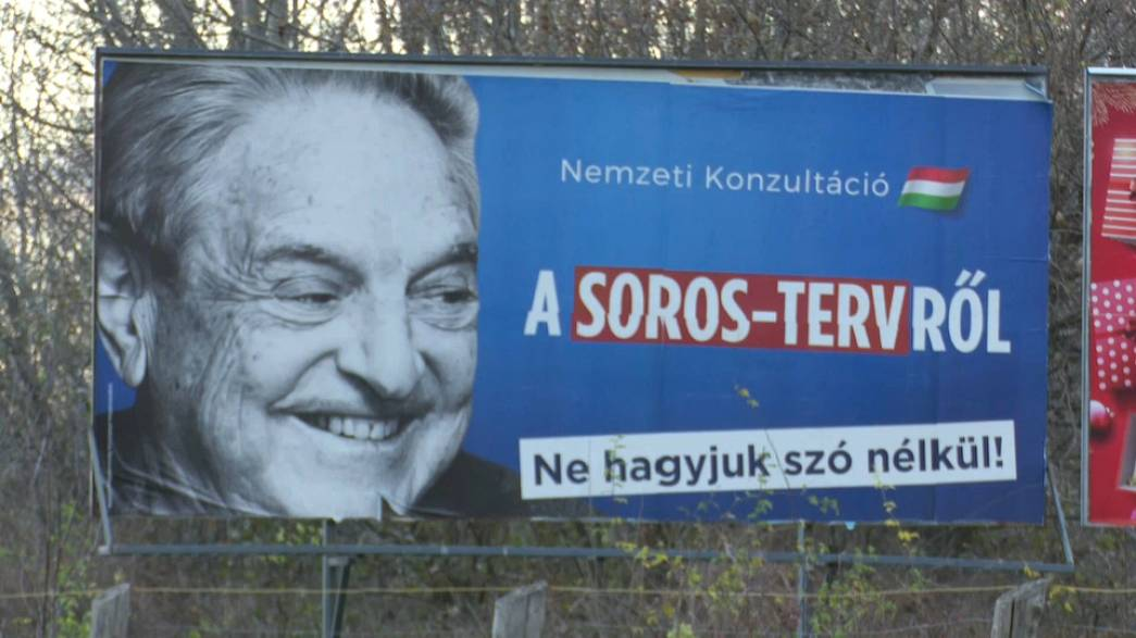 George Soros, bête noire de Viktor Orban