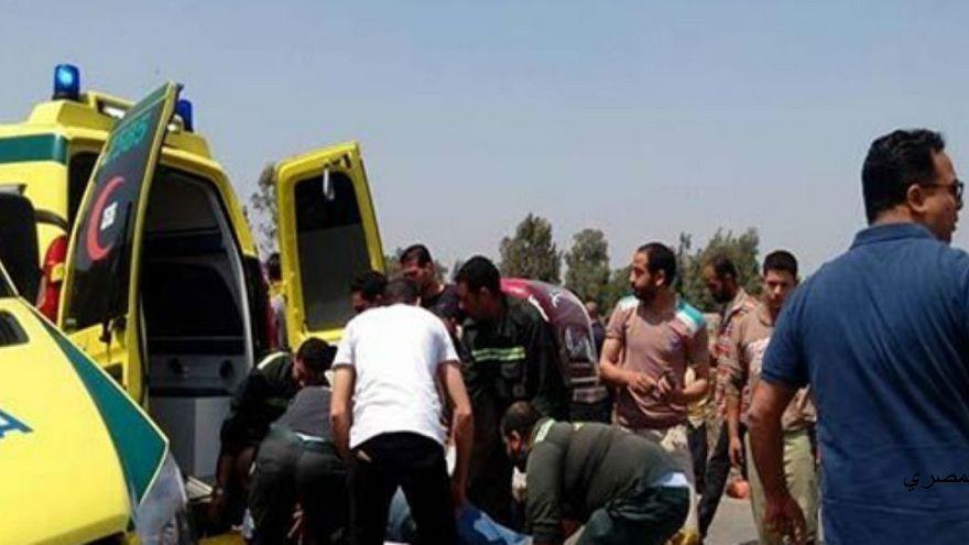 ارتفاع عدد قتلى الهجوم على مسجد في شمال سيناء إلى 235