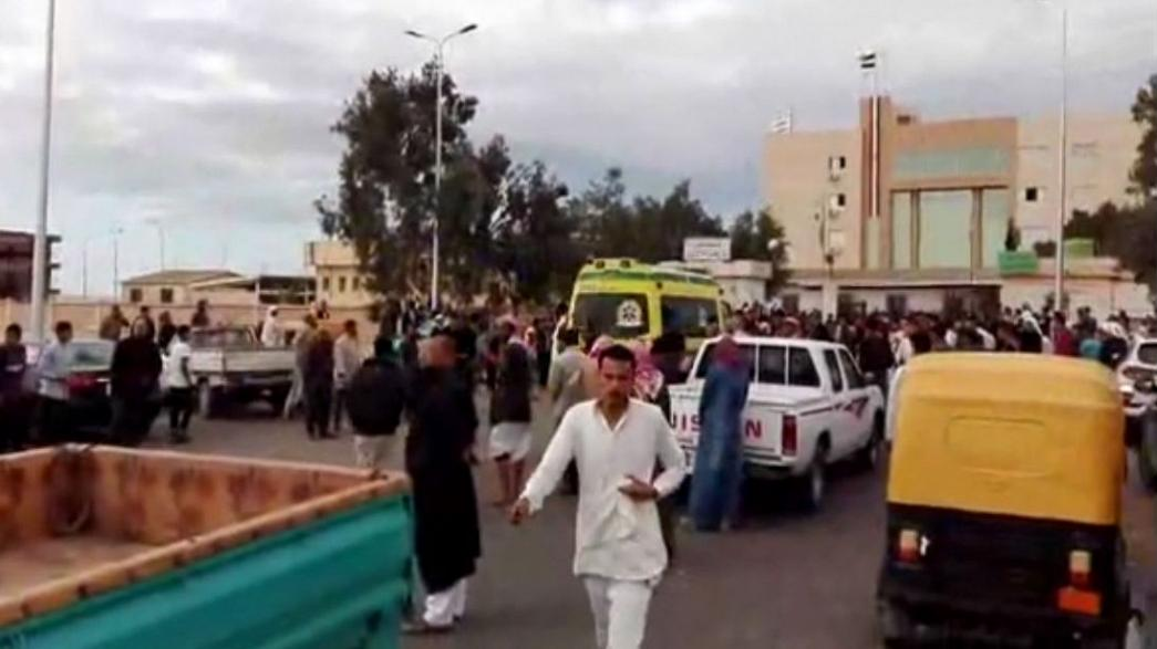 Egypt: at least 235 people killed in mosque attack