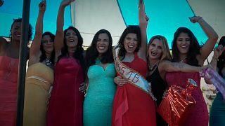 Brazillian prison hosts beauty pageant