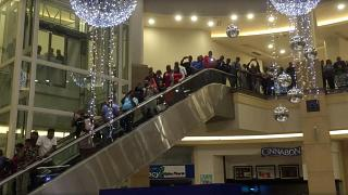 Shoppers in South Africa line up for Black Friday bargains