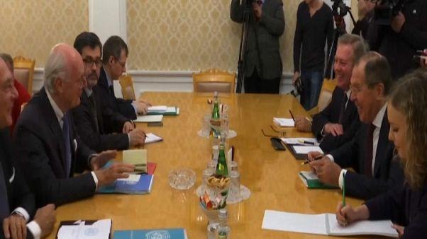 Лавров и де Мистура обсудили сирийское урегулирование