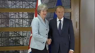 UK's May seeks Brexit progress