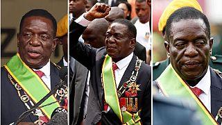 [Photos] Joy at Zimbabwe president Mnangagwa's swearing in