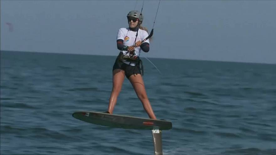 France's Parlier, USA's Moroz win Kiteboarding World Championships
