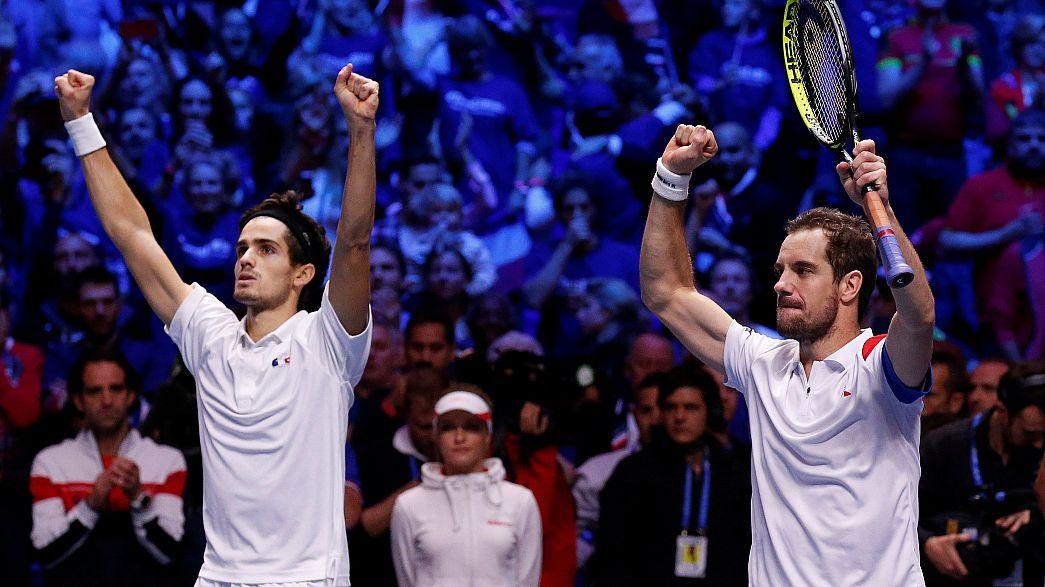 França fica a uma vitória de conquistar a Taça Davis